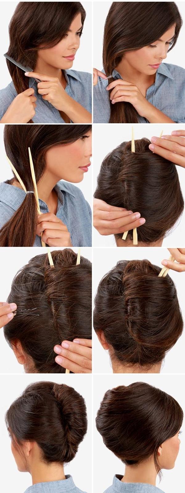 Gorgeous-Bun-Hairstyles-For-Office-Women