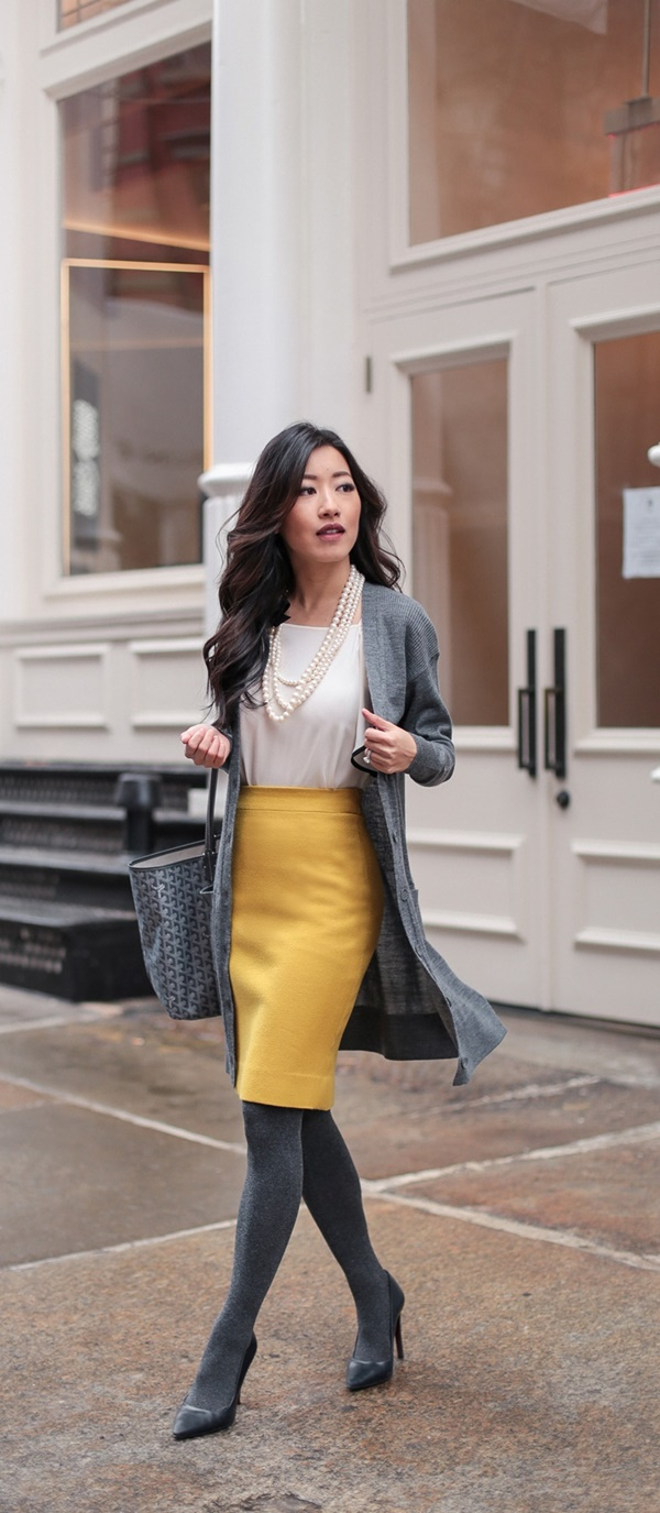 Ways-To-Wear-Skirts-in-the-Office