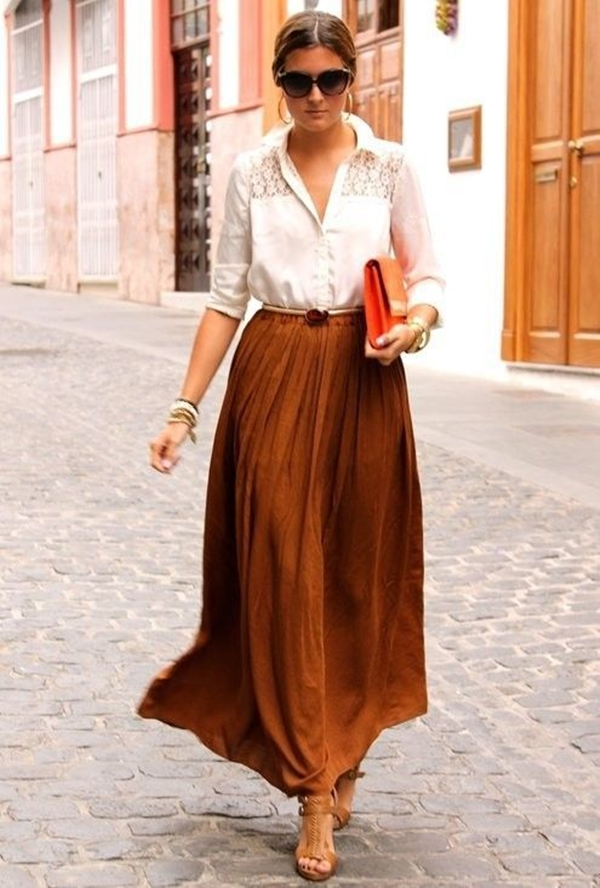 Gorgeous-Long-Skirt-Outfits-For-Working-Women