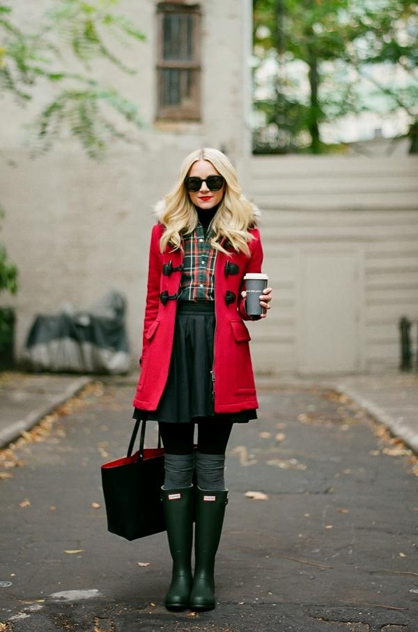stylish-duffel-coat-outfits-for-women