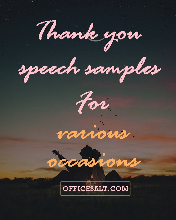 Thank-you-speech-samples-for-various-occasions