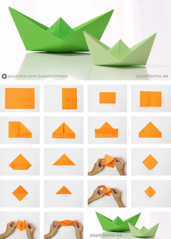 Easy-Paper-Craft-Ideas-For-Boring-Office-Days